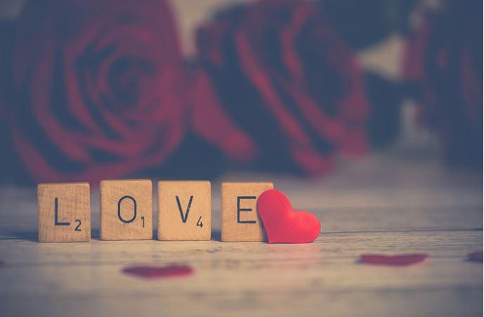 Un vrai décor de Saint Valentin !