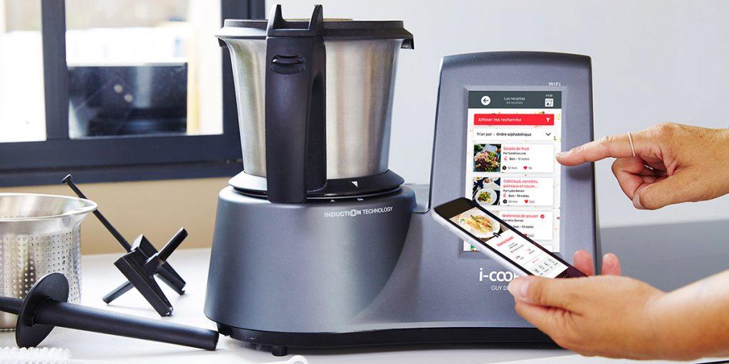 i-Cook'in, le robot de cuisine connecté qui vous simplifie la vie !