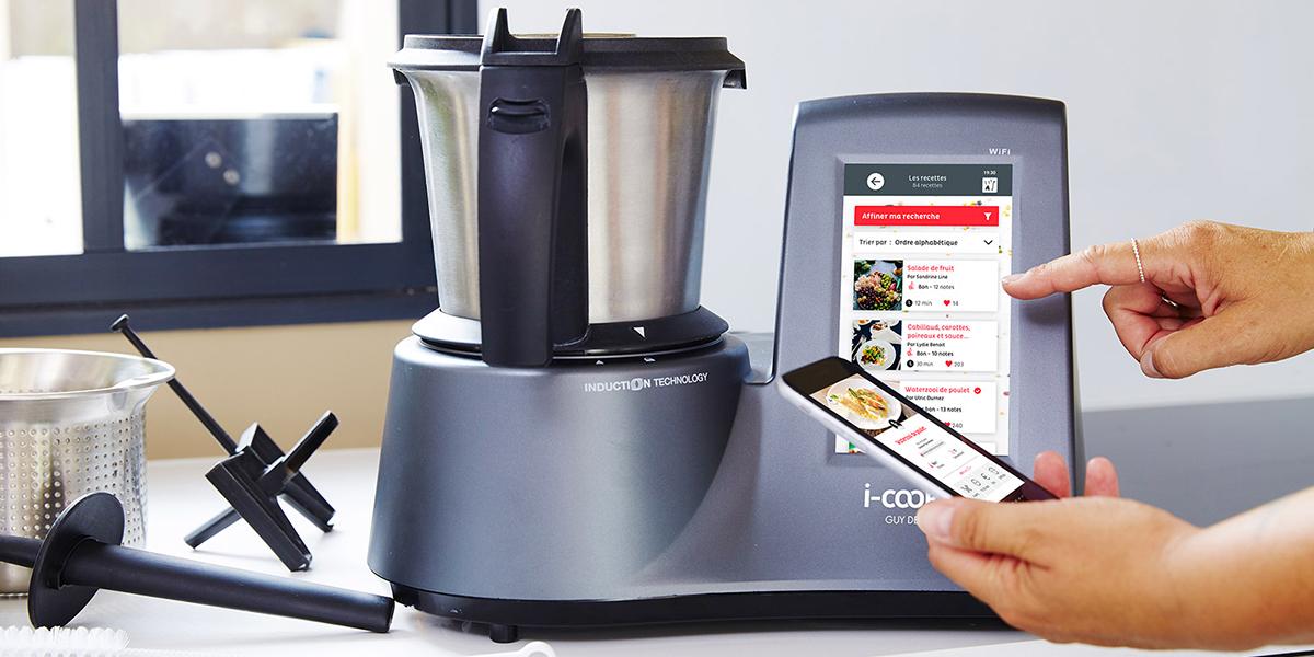 i-Cook'in, le robot de cuisine le plus complet du marché