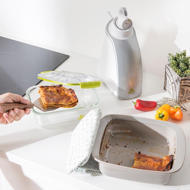 L'appareil de mise sous vide Be Save pour conserver plus longtemps vos aliments !