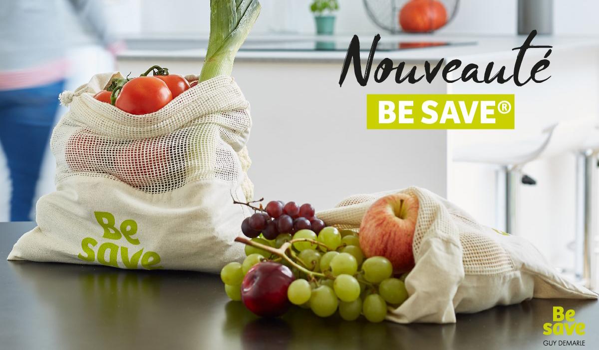 Pochon à légumes Be Save