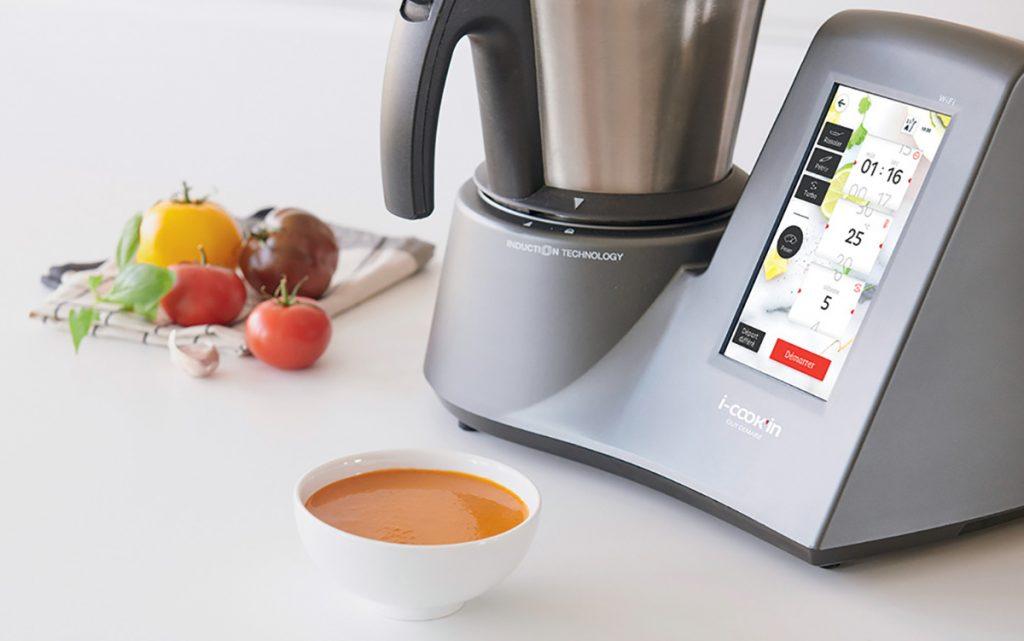 Réalisez facilement vos soupes grâce au i-Cook'in !