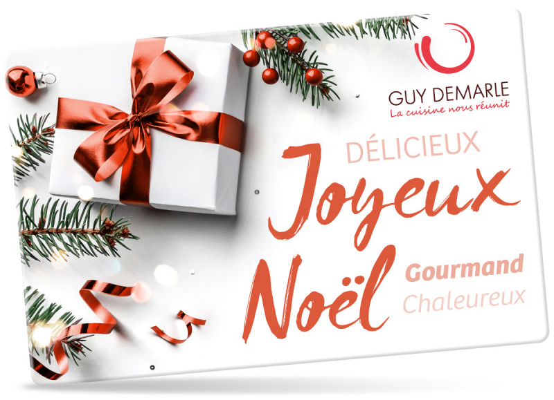Offrez une carte cadeau Guy Demarle !