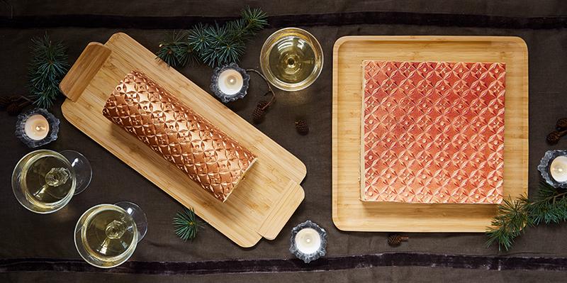 Des desserts de fête harmonisés avec la gamme Laponie !