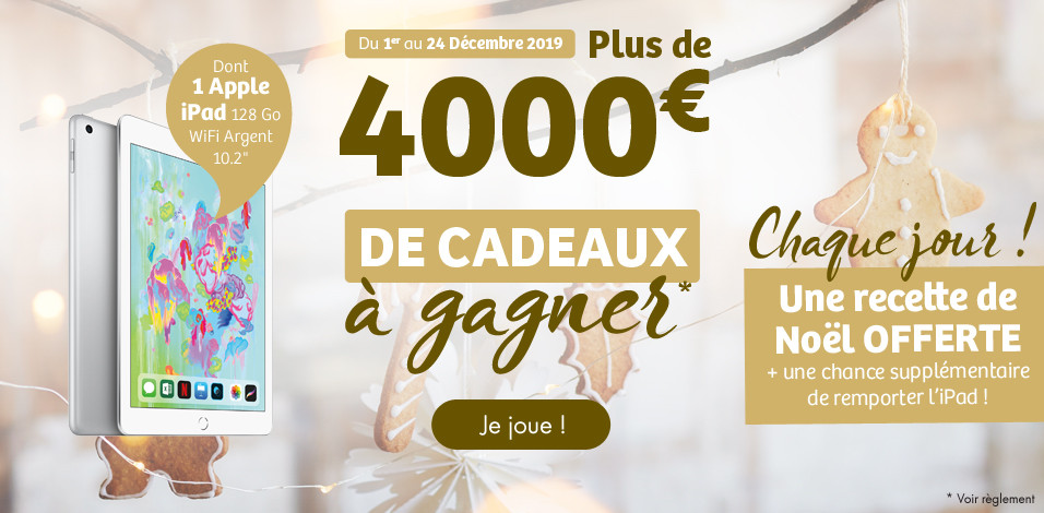 "Grand jeu ""Calendrier gourmand"""