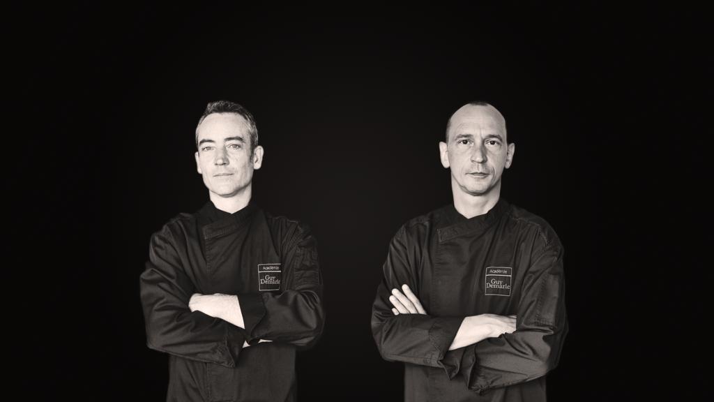 Les Chefs Ulric Durnez et Laurent Deregnaucourt