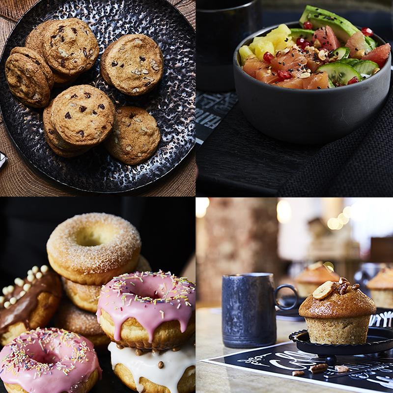 Cookies, Salad Bowl, Donuts, Muffins... Faites votre choix !