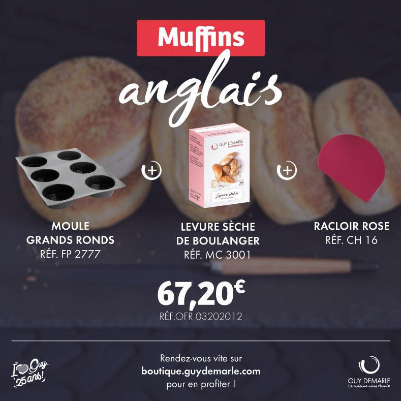 Le Kit Muffins anglais