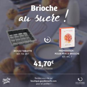 Le Kit Brioche au sucre