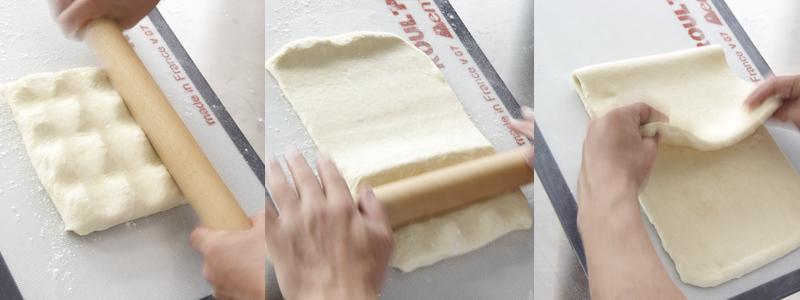 Abaissez votre pâte