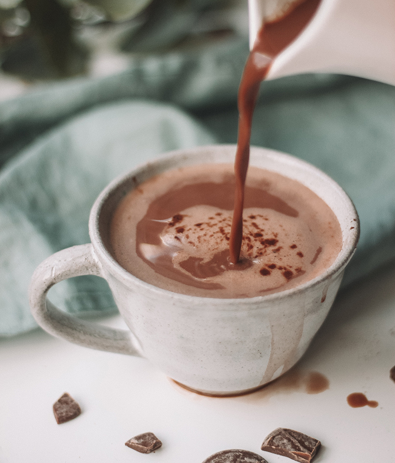 Voir la recette du chocolat chaud au i-Cook'in