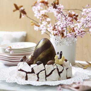 Voir la recette Nids de Pâques au chocolat