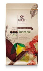Découvrez les pistoles de chocolat noir 75% Tanzanie
