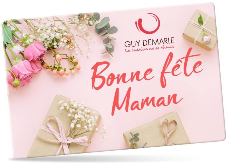 Offrez une carte cadeau Guy Demarle pour la fête des mères !