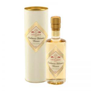 Découvrez le vinaigre balsamique blanc Leonardi !