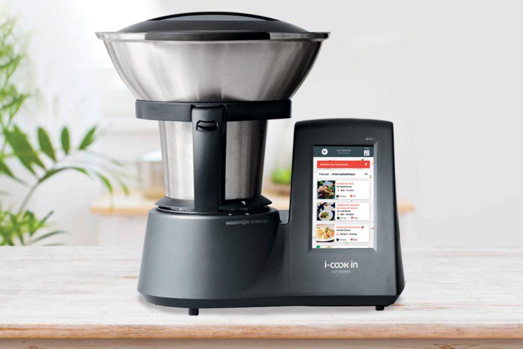 i-Cook'in, le robot connecté le plus complet du marché !