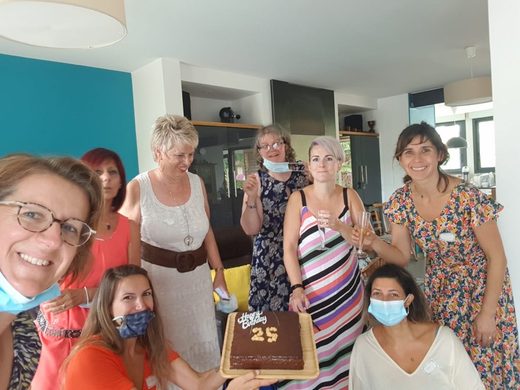 Les Conseillers fêtent les 25 ans de Guy Demarle