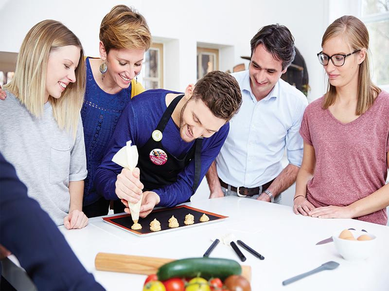 Partage et convivialité, les maîtres-mots de l'Atelier Culinaire Guy Demarle !