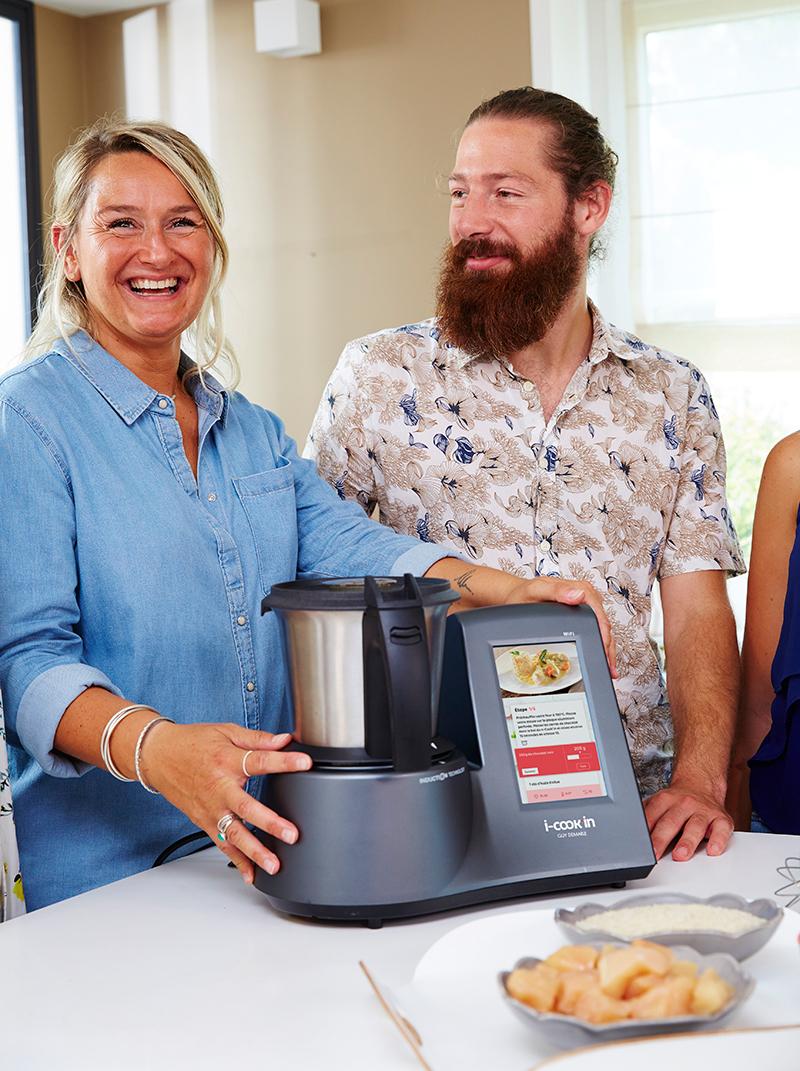 Le robot multifonction i-Cook'in cuisine pour vous