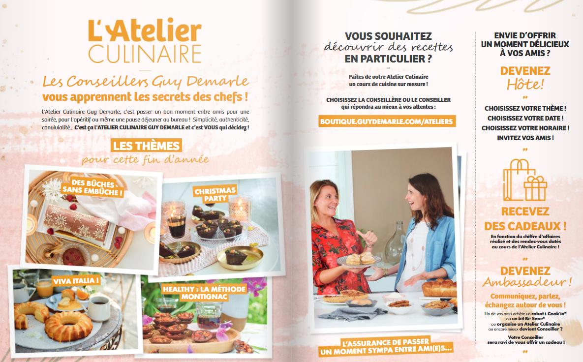 Rendez-vous en Atelier Culinaire !