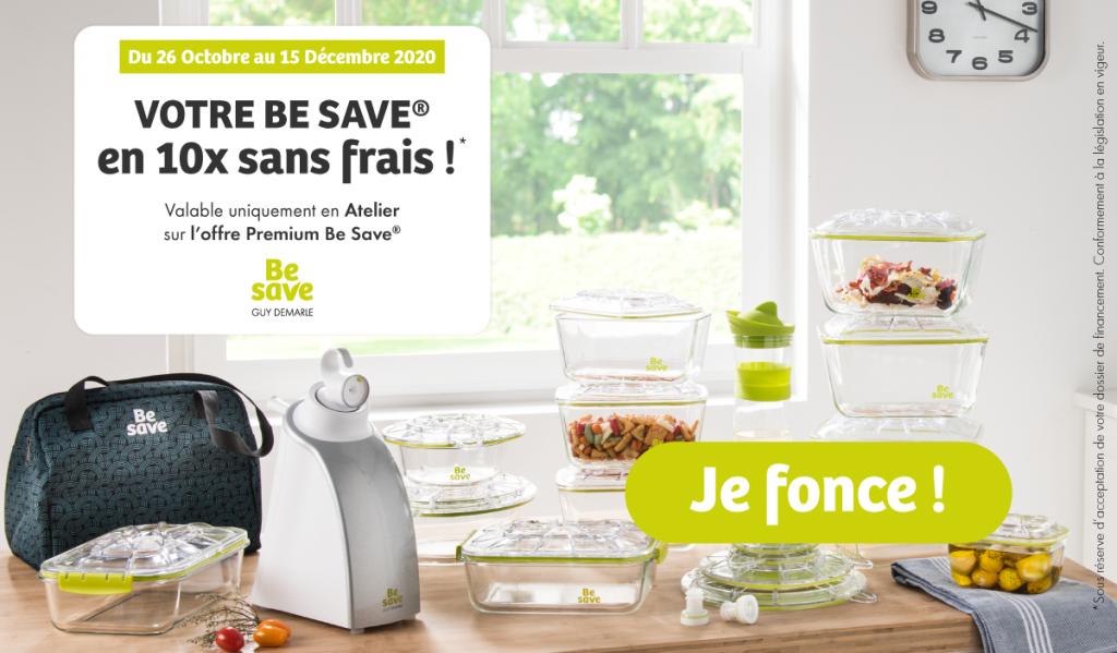 Rendez-vous en Atelier pour commander l'offre Premium en 10 fois sans frais en Belgique !