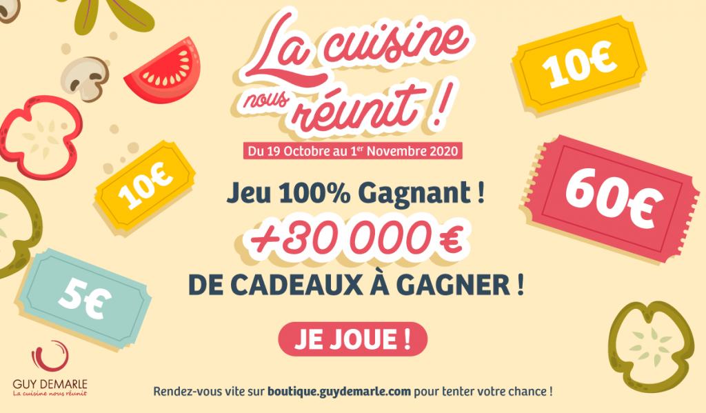 """Je joue au jeu """"La cuisine nous réunit"""" !"""