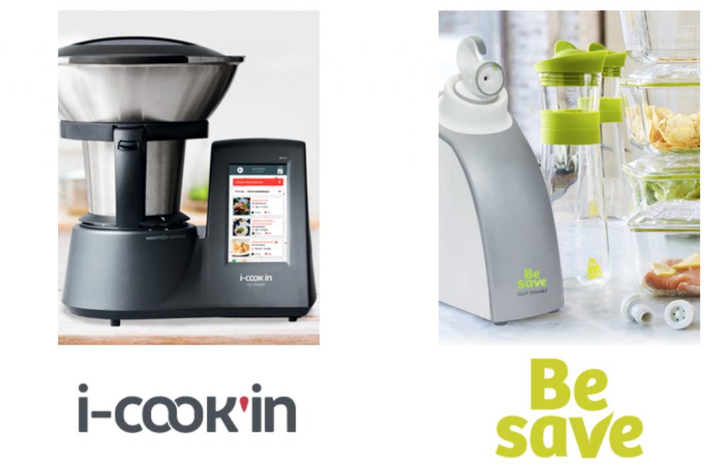 Des produits Guy Demarle innovants comme i-Cook'in et Be Save !