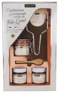 Coffret Déclinaisons gourmandes autour du foie gras