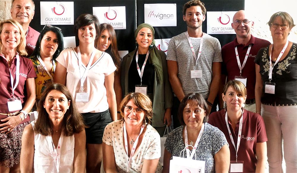 Les Conseillers Guy Demarle en Convention à Avignon en 2019