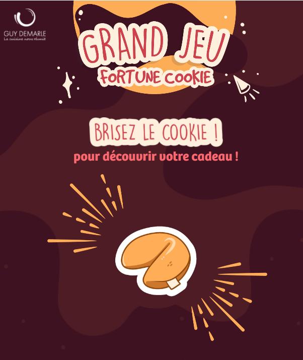 Brisez votre cookie de la Fortune pour découvrir si vous avez gagné !