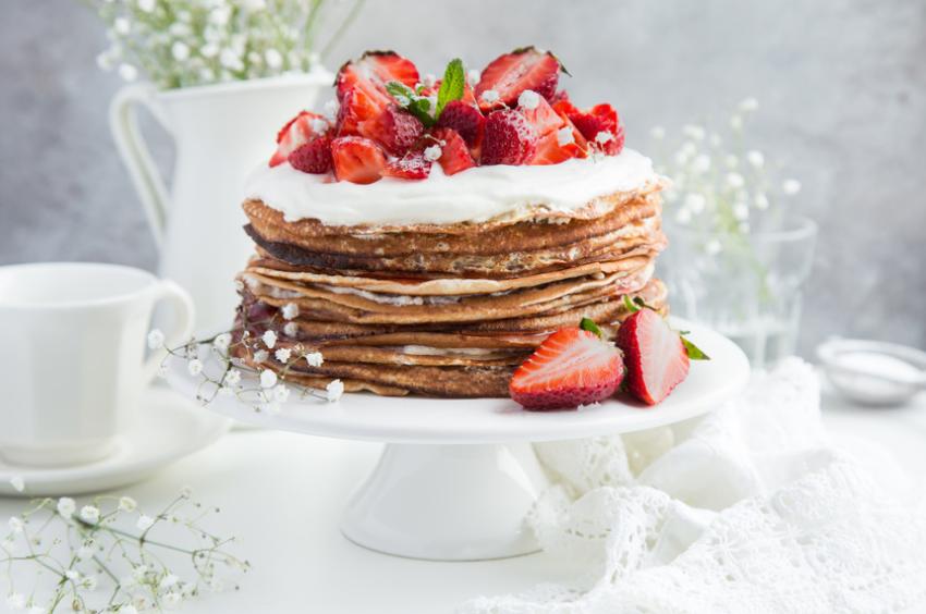 Un joli gâteau de crêpes pour émerveiller les gourmands !