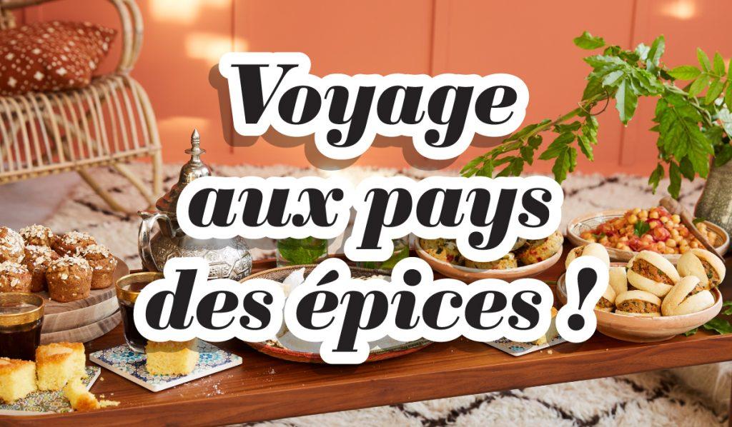 """La thématique """"Voyage aux pays des épices"""" à découvrir en Atelier !"""