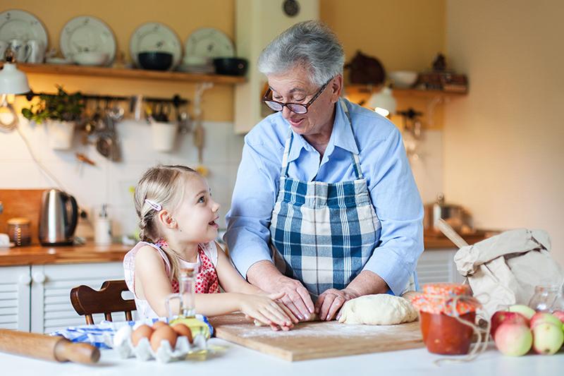 Concoctez des recettes pour la fête des grands-mères !