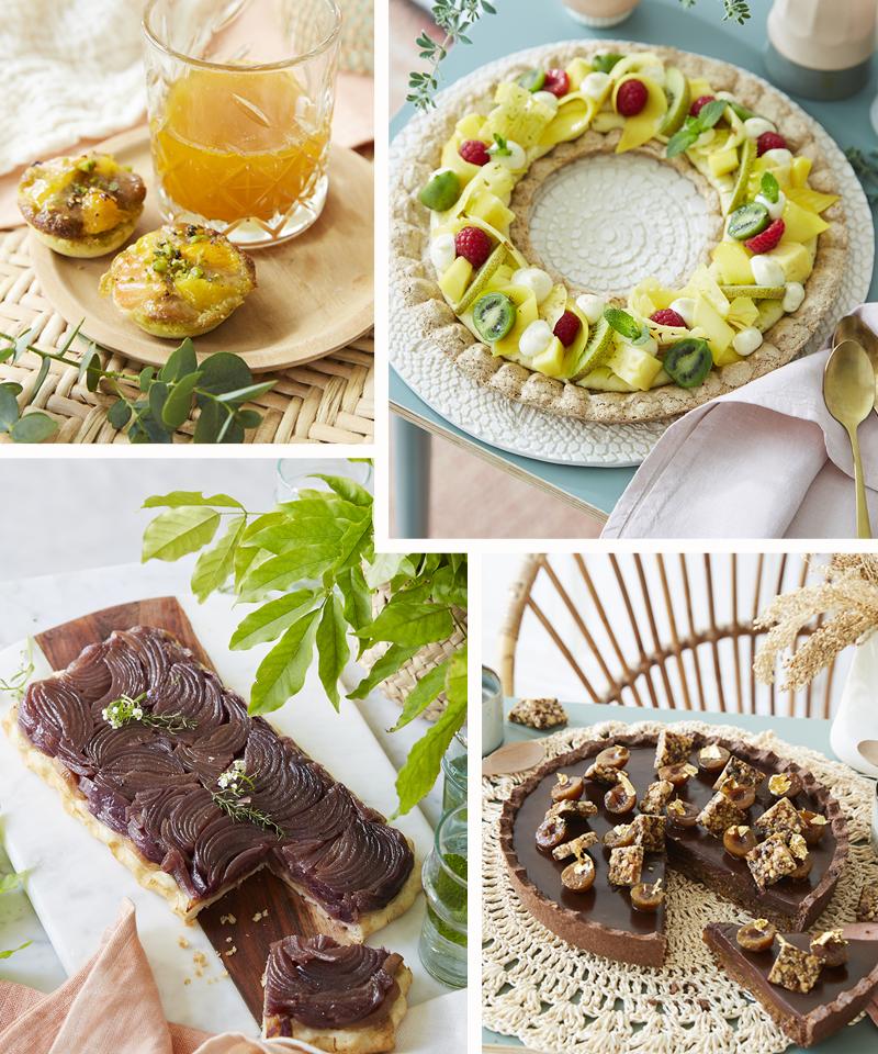Des recettes de tartes exclusives à découvrir en Atelier !