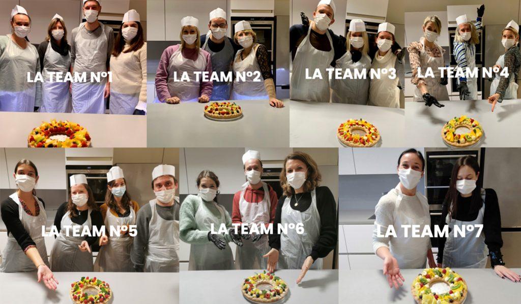 """Les équipes Guy Demarle en cuisine avec l'Atelier """"Ronde des tartes"""" !"""