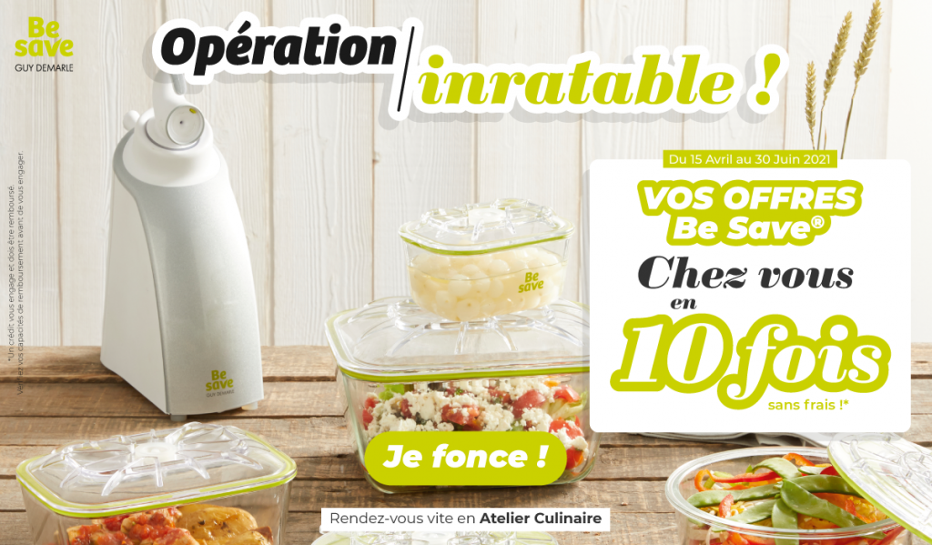 Opération inratable Be Save