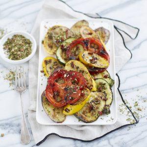 légumes marinés