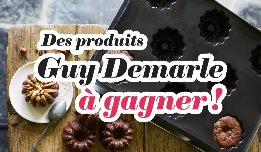 Des produits Guy Demarle à gagner !