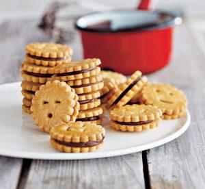 Petits biscuits ronds au chocolat